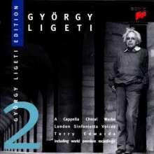György Ligeti (1923-2006): György Ligeti Edition Vol.2, CD