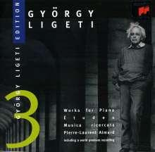 György Ligeti (1923-2006): György Ligeti Edition Vol.3, CD