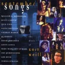 Kurt Weill (1900-1950): September Songs - The Music Of Kurt Weill, CD