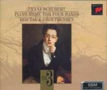 Franz Schubert (1797-1828): Die Klavierwerke zu vier Händen Vol.3, 2 CDs