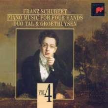 Franz Schubert (1797-1828): Die Klavierwerke zu vier Händen Vol.4, CD
