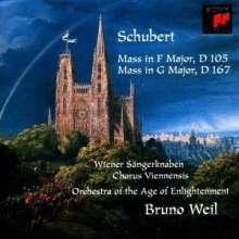 Franz Schubert (1797-1828): Messen D.105 & 167, CD