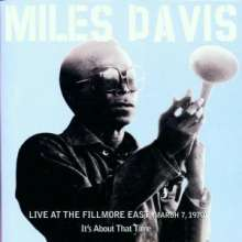 Miles Davis (1926-1991): Live At The Fillmore East (March 7th, 1970), 2 CDs