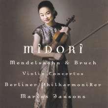 Midori: Bruch & Mendelssohn Vio, CD
