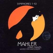 Gustav Mahler (1860-1911): Symphonien Nr.1-10, 14 CDs