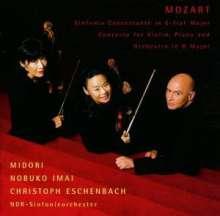 Wolfgang Amadeus Mozart (1756-1791): Konzert für Violine,Klavier & Orchester D-dur KV Anh.56, CD