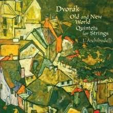 Antonin Dvorak (1841-1904): Streichquintette opp.77 & 97, CD