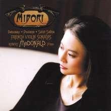Midori spielt Violinsonaten, CD