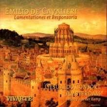 Emilio de' Cavalieri (1550-1602): Lamentationes Hieremiae Prophetae (1600), 2 CDs