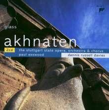 Philip Glass (geb. 1937): Akhnaten (Oper in drei Akten), 2 CDs