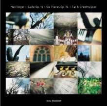 Max Reger (1873-1916): Klavierstücke zu 4 Händen, CD