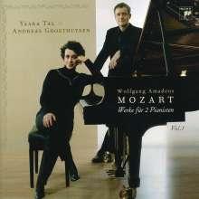 Wolfgang Amadeus Mozart (1756-1791): Klavierwerke zu vier Händen Vol.1, CD