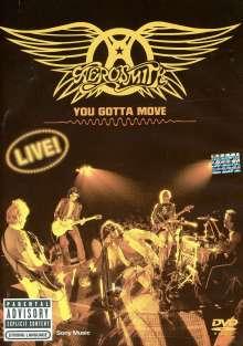 Aerosmith: You Gotta Move - Live, 1 DVD und 1 CD