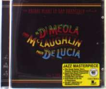 Paco de Lucia, Al Di Meola & John McLaughlin: Friday Night In San Francisco, CD
