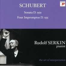 """Rudolf Serkin """"The Art of Interpretation"""" - Schubert, CD"""