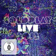 Coldplay: Live 2012 (Explicit), 1 CD und 1 DVD