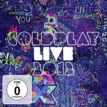 Coldplay: Live 2012 (Explicit), CD