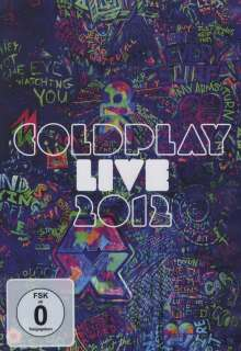 Coldplay: Live 2012 ( Limited-Edition), DVD