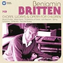Benjamin Britten (1913-1976): Choral Works & Opera for Children, 7 CDs