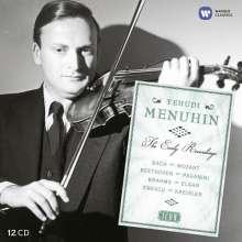 Yehudi Menuhin - Early Years (Icon Series), 12 CDs