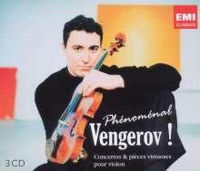Maxim Vengerov - Phenomenal Vengerov!, 3 CDs