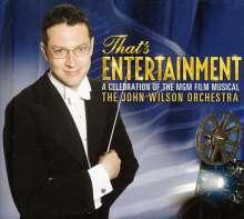 John Wilson: Filmmusik: That's Entertainment (CD + DVD), 1 CD und 1 DVD
