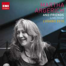 Martha Argerich & Friends - Live from Lugano Festival 2010, 3 CDs