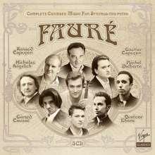 Gabriel Faure (1845-1924): Sämtliche Kammermusik für Streicher & Klavier, 5 CDs