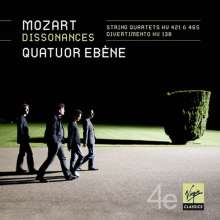 Wolfgang Amadeus Mozart (1756-1791): Streichquartette Nr.15 & 19, CD