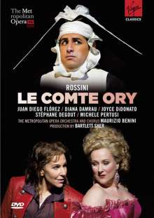 Gioacchino Rossini (1792-1868): Le Comte Ory, 2 DVDs