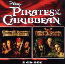 Filmmusik: Fluch der Karibik 1 & 2 (Pirates Of The Caribbean), 2 CDs