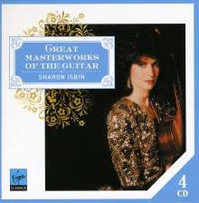 Sharon Isbin - Masterworks of the Guitar, 4 CDs