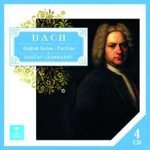 Johann Sebastian Bach (1685-1750): Englische Suiten BWV 806-811, 4 CDs