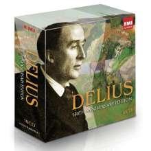 Frederick Delius (1862-1934): Delius - 150th Anniversary Edition, 18 CDs