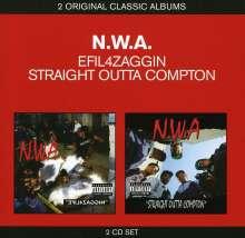N.W.A: Efil4zaggin / Straight Outta Compton (Explixit), 2 CDs