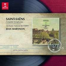 Camille Saint-Saens (1835-1921): Die 5 Symphonien, 2 CDs