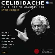 Celibidache-Edition Vol.1 - Sinfonien, 14 CDs