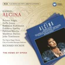 Georg Friedrich Händel (1685-1759): Alcina, 3 CDs