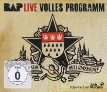 BAP: Volles Programm (2 CDs + DVD), 2 CDs