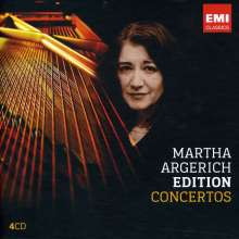 Martha Argerich Edition - Concertos, 4 CDs