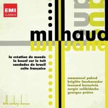 Darius Milhaud (1892-1974): La Creation du Monde-Ballettmusik, 2 CDs