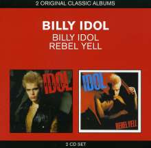 Billy Idol: Billy Idol/Rebel Yell, 2 CDs