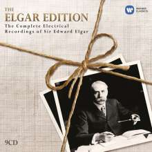 Edward Elgar (1857-1934): Elgar Edition - Complete Electrical Recordings of Elgar, 9 CDs