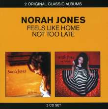 Norah Jones (geb. 1979): Feels Like Home / Not Too Late, 2 CDs