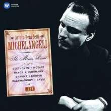 Arturo Benedetti Michelangeli - Master Pianist (Icon Series), 4 CDs