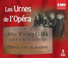 Les Urnes de l'Opera - Aus den Archiven der Pariser Oper, 3 CDs