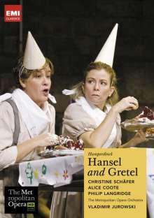 Engelbert Humperdinck (1854-1921): Hänsel & Gretel (in engl.Spr.), DVD