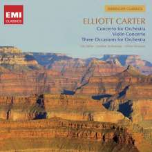 Elliott Carter (1908-2012): Concerto for Orchestra, CD
