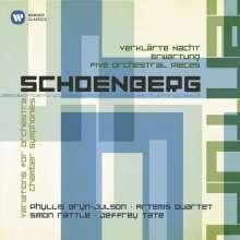 Arnold Schönberg (1874-1951): Stücke für Orchester op.16 Nr.1-5, 2 CDs