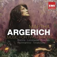 Martha Argerich - Music for Two Pianos, 2 CDs